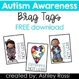 Autism Awareness Brag Tags and More