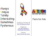 Autism Awareness Brochure (For Kids!)