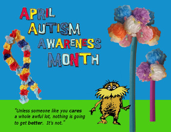 Autism Awareness Bulletin Board Idea - Dr. Suess theme