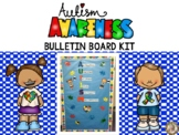 Autism Awareness Bulletin Board Kit {FREE}
