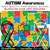 Autism Awareness Clip Art for Personal and Commercial Use