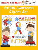 Autism Awareness ClipArt Set