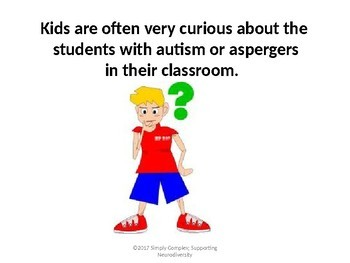Autism Awareness; Explaining Autism to Your Class; What is Autism