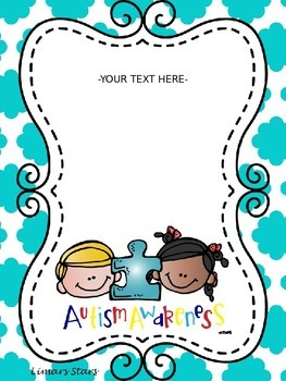 Autism Awareness FREEBIE!