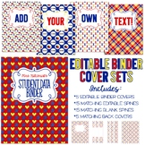 Autism Awareness - Five Editable Binder Cover Sets - For D