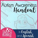 Autism Awareness Handout