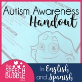 Autism Awareness Handout