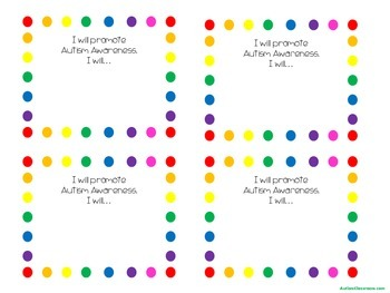 Autism Awareness Month Bulletin Board Decorations (Set 1)