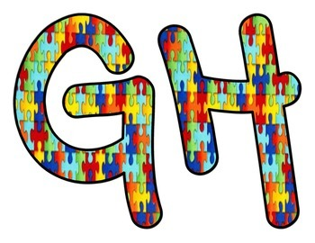 Autism Awareness Month Capital Letters