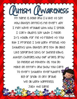 Autism Awareness Poem