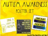 Autism Awareness Poster Set