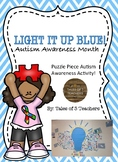 Autism Awareness Puzzle Piece Activity
