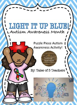 Autism Awareness Puzzle Piece Activity