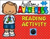 Autism Awareness Reading Activity