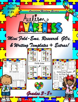 Autism Awareness Research Fold-Ems and Resources
