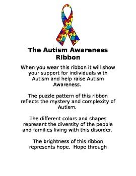 Autism Awareness Ribbon Description