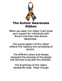 Autism Awareness Ribbon Description