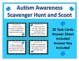 Autism Awareness Scavenger Hunt and Scoot Activity - NEW!