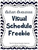 Autism Awareness: Visual Schedule Freebie