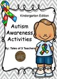 Autism Awareness Activities for Kindergarten