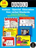 Autism BUNDLE : Communication; Speech; Special Education; Behavior Tools; PECS