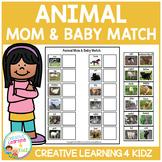 Animal Mom & Baby Match
