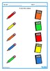 Basic Concepts Color Match Autism Special Education Back to School