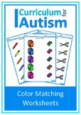 Back to School, Basic Concepts Color Match, Autism, Specia