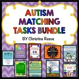 Autism Basic Skills Matching Tasks Bundle {special ed; Early Childhood}