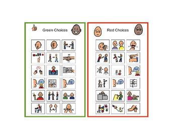 Autism Behavior Visual Good Choices