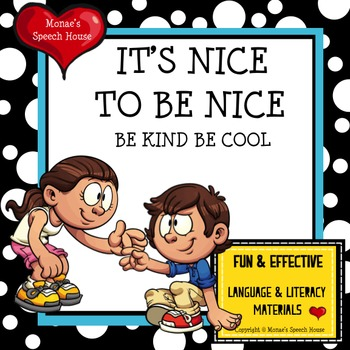BULLY BE KIND BE COOL  Autism Behaviors