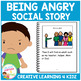 Social Story Being Angry Book + PECS Behavior Autism