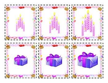 Autism Birthday Themed Bundle