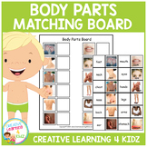 Body Part Matching Board