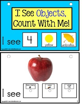 Autism Build A Sentence with Pictures Interactive for OBJECTS