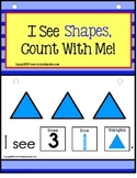 SHAPES Adapted Book for Special Education and Autism  - Build A Sentence