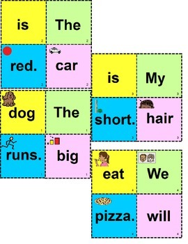 AUTISM Building Sentences for Visual Learners for Special Education