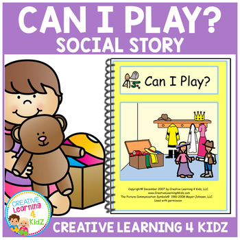 Social Story Can I Play? Book Autism
