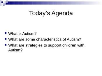 Autism: Characteristics & Support in Secondary Schools