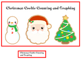 Autism:  Chirstmas Cookie Counting and Graphing File Folder