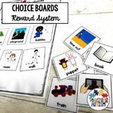 Autism Choice Boards with Symbols