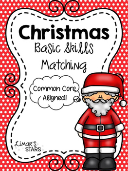 Autism Christmas Basic Skills Matching
