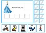 Autism:  Cinderella token board