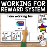 Autism Classroom Visuals, Working For Reward System