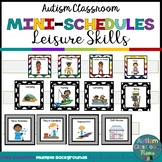 Autism Classroom Leisure Skills Mini-Schedules for Special