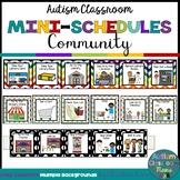 Autism Classroom Community Skills Mini-Schedules for Speci