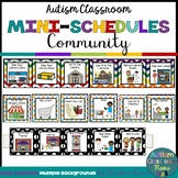 Autism Classroom Community Skills Mini-Schedules for Speci
