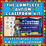Autism Classroom Mega Bundle: Set up, Organize, & Manage; Visuals, Schedules