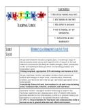 Autism Classroom Rubric