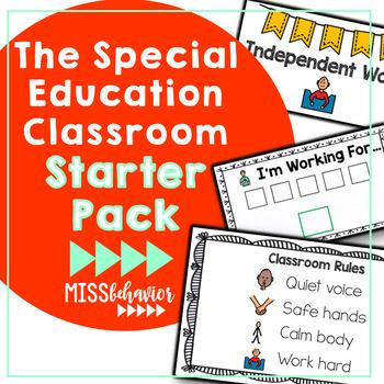 Autism Classroom Starter Pack